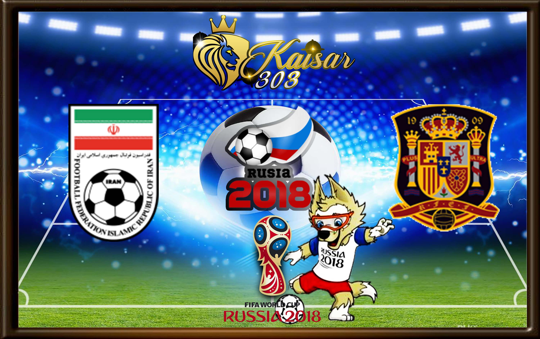 Prediksi Skor Iran Vs Spanyol 21 Juni 2018