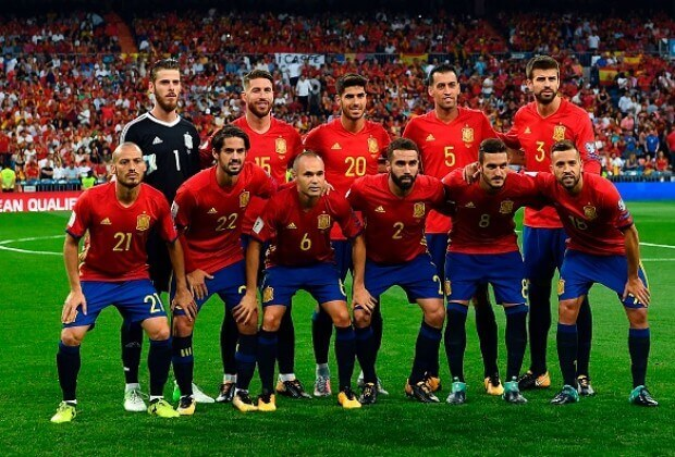 SPAIN Team Football 2018